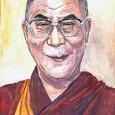 Отдается в дар Портрет Далай-Ламы