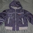 Отдается в дар легкая курточка 104