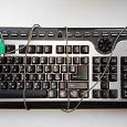 Отдается в дар Мультимедийная клавиатура с разъемом PS/2