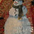 Отдается в дар Снеговик.