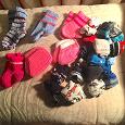 Отдается в дар носки детские для девочек и мальчиков вязаные шерстяные и хлопок