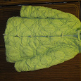 Отдается в дар Зелёная зимняя детская куртка для девочки