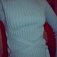 Отдается в дар Голубой свитер 42-44 размера