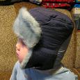 Отдается в дар Шапка зимняя для мальчика