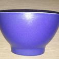 Отдается в дар Пиала синяя с большой тарелкой.
