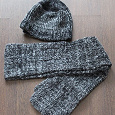 Отдается в дар Шапка+шарф зимние