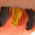 Отдается в дар вязанные носочки