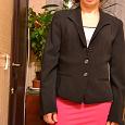 Отдается в дар Пиджак 42-44 черный на подкладке фирма Exclusive