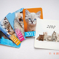 Отдается в дар Календарики: кошки