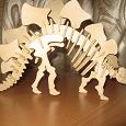 Отдается в дар скелет динозавра