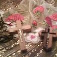 Отдается в дар Крестик из оливкового дерева