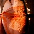 Отдается в дар Парео оранжевого цвета