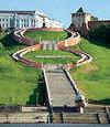 Отдается в дар Нижний Новгород, туристическая карта