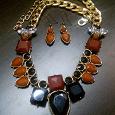 Отдается в дар Серьги и ожерелье