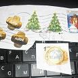 Отдается в дар Марки Финляндии, Эстонии и Украины. на кусочках конверта.