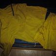 Отдается в дар Спортивный костюм желтый на рост 122 (замеры)