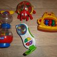 Отдается в дар 4 игрушки для малыша