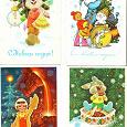 Отдается в дар Старый Новый год с открытками В.Зарубина