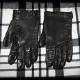 Отдается в дар Коричневые кожаные перчатки