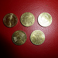 Отдается в дар ГВСК монетки.