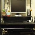Отдается в дар стол компьютерный черный