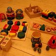 Отдается в дар Деревянные игрушки