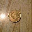 Отдается в дар Монета 50 euro cent
