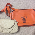 Отдается в дар оранжевая сумка ищет хозяйку