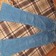 Отдается в дар джинсы женские, размер 42-44, на рост 170 максимум