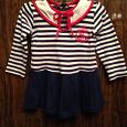 Отдается в дар Детское платье на 2-3 года.