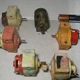 Отдается в дар Моторчики, двигатели электрические от (для) игрушек. Более 20 штук.