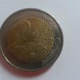 Отдается в дар Монета евро