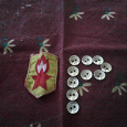 Отдается в дар Винтажные пуговицы СССР