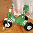 Отдается в дар Детский 3-х колёсный велосипед.
