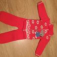 Отдается в дар Детский костюм тёплый размер 74-80
