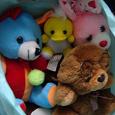 Отдается в дар мешок игрушек