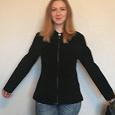 Отдается в дар Куртка женская натуральная замша на молнии р 46