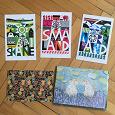 Отдается в дар Набор открыток для посткроссинга + стикеры