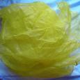 Отдается в дар Платок газовый ярко-желтый