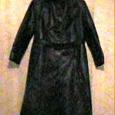 Отдается в дар Плащ женский кожаный, размер 46-48 (примерно)
