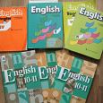 Отдается в дар Учебники и пособия по английскому и немецкому