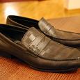 Отдается в дар Мужские кожаные туфли