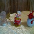 Отдается в дар Сувениры: ангелочек, овечка и дракончик.