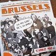 Отдается в дар карта Брюссель, Брюгге