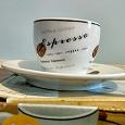 Отдается в дар Набор кофейных чашек (6 пар)