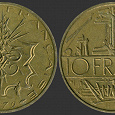 Отдается в дар Франция. 10 франков