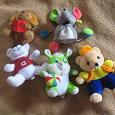 Отдается в дар Мягкие игрушки — мишки, мышка, зайчик…