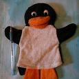 Отдается в дар Игрушка для кукольного театра. Пингвин.