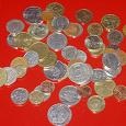 Отдается в дар Иностранные монетки коллекционерам (много)
