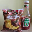 Отдается в дар Чипсы и кетчуп